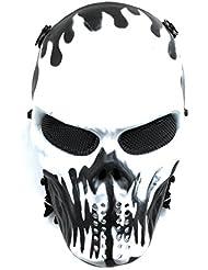 CS Protective Mask Halloween Airsoft Paintball Full Face Skull Skeleton Mask