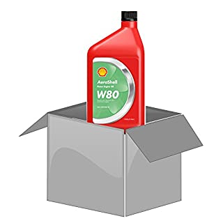 AeroShell Oil W80 - Karton (12 x 1 AQ Flaschen, US-Quart)
