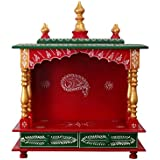 MVEE Wooden Temple/Pooja Mandir/Mandapam/Temple for Home