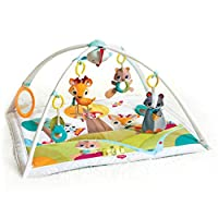 Tiny Love Gymini Deluxe, Musical Baby Play Mat and Newborn Activity Gym, Suitable from Birth, 0 Month +, 88 x 78 cm, Into the Forest