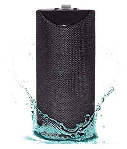 RSK TG - 113 Super Bass Splashproof Wireless Bluetooth Speaker (Black)