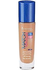 Rimmel Match Perfection Fond de Teint Liquide True Nude Foncé 30 ml
