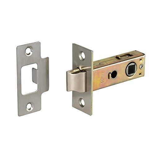 Internal Door Mortice Tubular Latch Catch Lever with Bolt Through Fixings 3  (76mm) Satin Zinc  sc 1 st  Amazon UK & Door Latches for Internal Doors: Amazon.co.uk pezcame.com