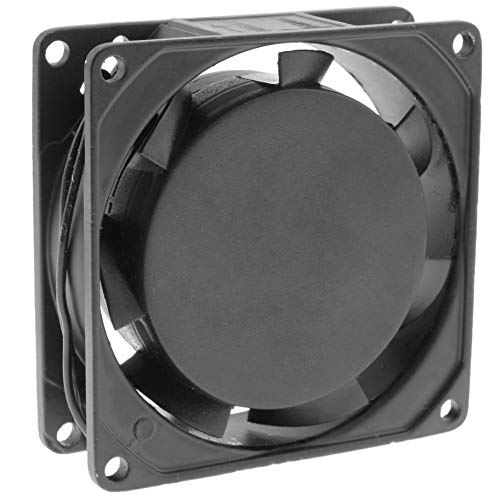 Cablematic - Ventilador de chasis de 220 VAC y 80x80x25mm
