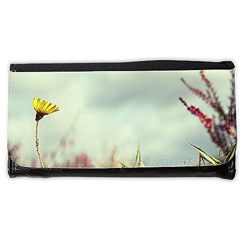 Portemonnaie Geldbörse Brieftasche // M00312792 Blume Absenkbetrieb Victor Natur // Large Size Wallet