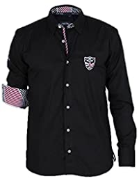 Chemise homme manches longues Rugby New Zealand Shilton