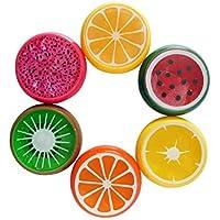 DDG EDMMS Un Paquet de Boue Fruit Transparent Boue Fruit Boue de Ciment Jouets éducatifs pour Enfants Cadeaux Enfants Couleur aléatoire