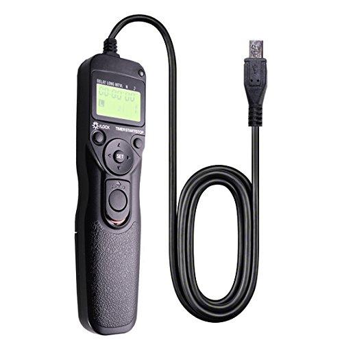 Foto & tech telecomando timer lcd rilascio dell' otturatore per Sony A7II, A7, A7R, A7S, A6500, A6300, a5100, a6000, a5000, A3000, SLT-A58, NEX-3NL, DSC-HX300, DSC-RX100M3, DSC-RX100M2, DSC-RX100III