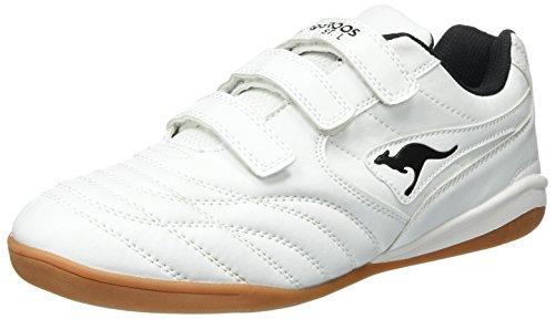 kangaroos-herren-k-yard-3021-b-v-low-top-weiss-white-black-43-eu