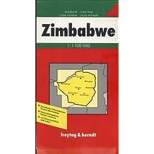 Carte routière : Zimbabwe