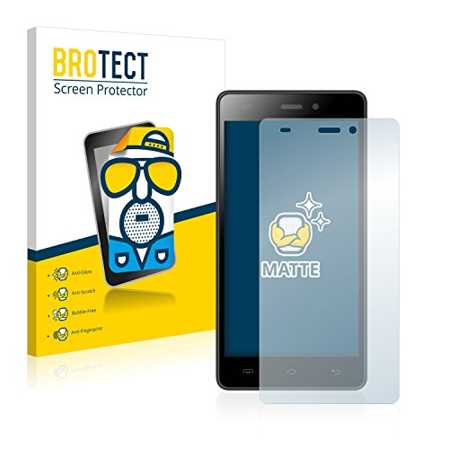 BROTECT Schutzfolie Matt kompatibel mit Doogee Galicia X5 Pro [2er Pack] - Anti-Reflex