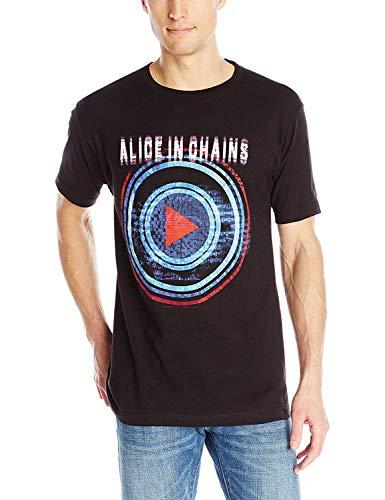 Blenden Sie die Alice der T-Shirt Männer in den Ketten, die Mode-Grafik-T-Shirt gespielt Werden -