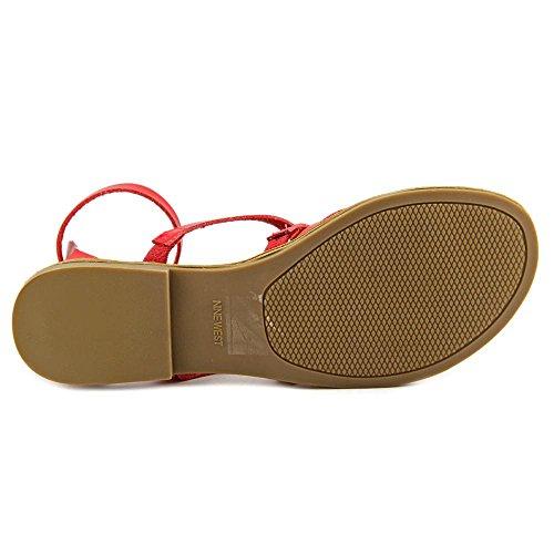 Nine West Jessaboo Synthetik Gladiator Sandale Pink