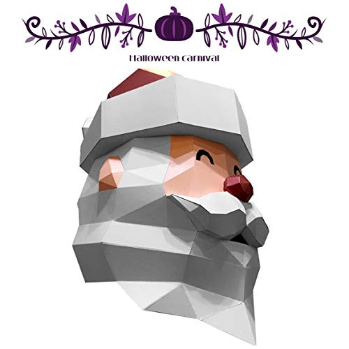 Voldemort Kid's Kostüm - Halloween Maske, DIY Origami Maske Eltern-Kind-Interaktion, Erwachsene Maskerade  Halloween/Karneval/Weihnachten/Lagerfeuer/Cosplay Maske (Size : Children's Version)