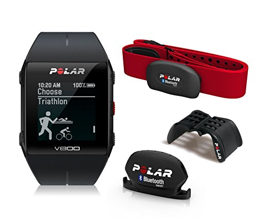Polar V800 Javier Gómez Noya - Reloj deportivo GPS, sensor de frecuen