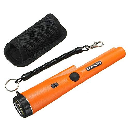 VCB Professioneller Pinpointing Sensitive Pointer Handmetall-Golddetektor - Orange