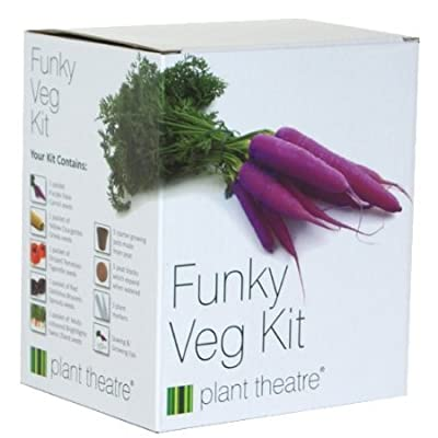 Funky Veg Kit by Plant Theatre - 5 Extraordinary Vegetables to Grow