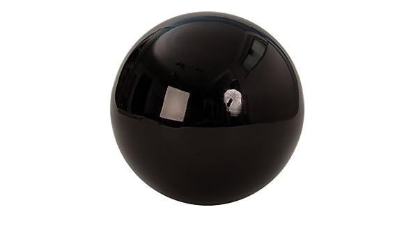 Mel O Design Moderno Sfera Decorativa Decorazione Sfera nera in acciaio Diametro 20 cm