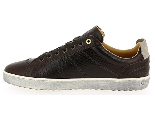 Pantofola d'Oro Canaverse Cocodrillo Uomo Low After Dark 10163049IQU, Turnschuhe Marron