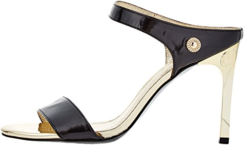 Versace Jeans Damen Scarpa Riemchen Pumps Nero (Nero)