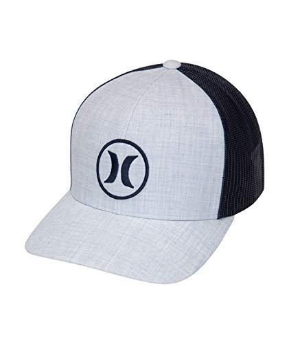 Hurley Herren M Oceanside Hat Cap, Topaz Mist, 1SIZE - Panel Mesh Back Trucker Hat
