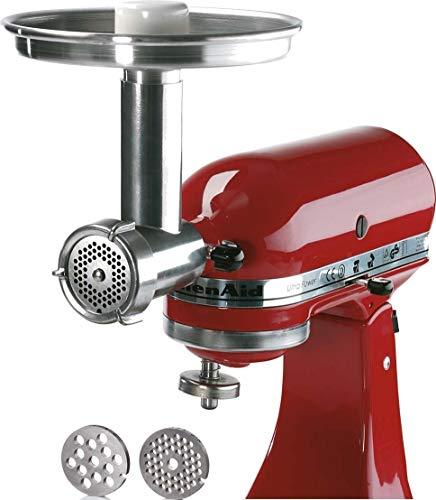 Fleischwolf Jupiter Gr.5 für alle KitchenAid Küchenmaschine + Altes Gewürzamt Klasse Hackipulver 70 g