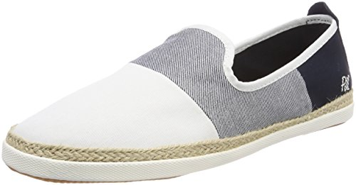 Pepe Jeans London Maui Beach, Alpargatas para Hombre, Blanco Factory White, 45 EU