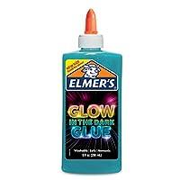 Elmer's Electrifying Glow in the Dark Liquid Glue - Blue