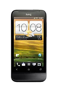 HTC ONE V Smartphone (9,4 cm (3,7 Zoll) Touchscreen, 5 Megapixel Kamera, Android OS) schwarz