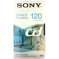 Sony E120CD Video сassette 120min 1pieza(s) cinta de sonido y vídeo - Cinta de audio/video (120 min, 1 pieza(s))