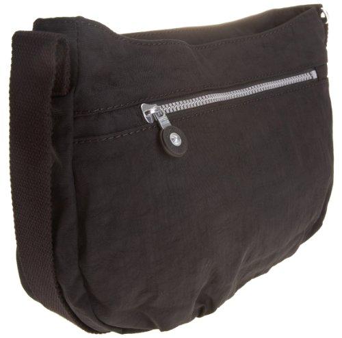 Kipling SYRO Lavender Grey K13163871, Borsa donna, 31x22x6 cm (L x A x P) Nero (Black)