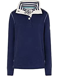 Lazy Jacks Super Soft Plain Button Neck Sweatshirt LJ5
