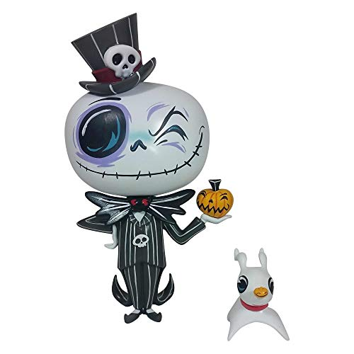 (ENESCO World of Miss Mindy Disney Designer-Figur Nightmare Jack Skellington, Vinyl, 17,8 cm, Mehrfarbig)