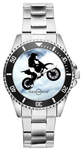 Enduro Motocross MTB Motorrad Fans Fahrer Kiesenberg Uhr 2096