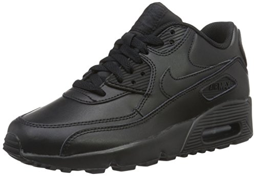Nike Air Max 90 Ltr Gs, Scarpe da Ginnastica Bambino, Nero, 40 EU