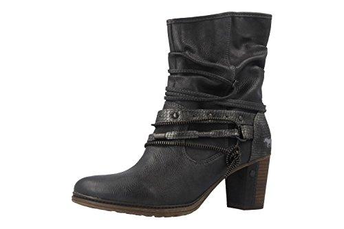 MUSTANG Shoes Stiefeletten in Übergrößen Grau 1199-506-259 große Damenschuhe, Größe:43