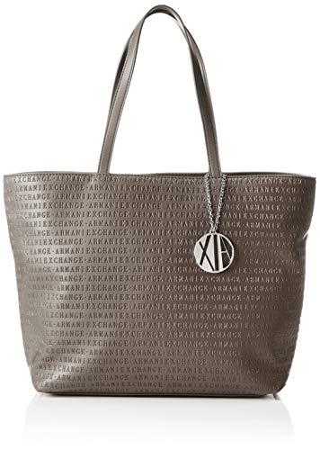 f0e02df590 Armani Exchange - Womans Shopping, Bolsos totes Mujer, Marrón (Taupe), 29.5