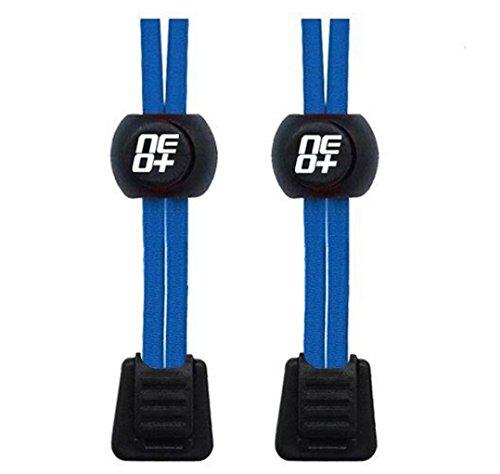 Elastische Schnürsenkel für Laufen und Triathlons Blau