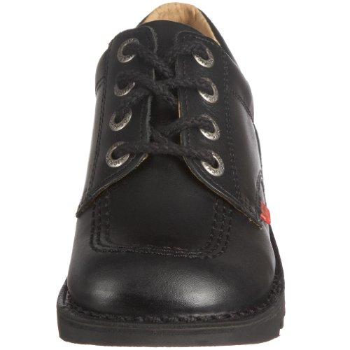 Kickers Kick Lo Core, Chaussures à lacets Garçon Noir (Black)