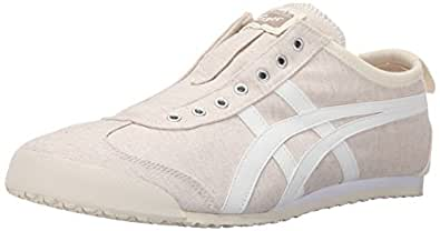 Onitsuka Tiger Mens Mexico 66 Slip-On Fashion Sneaker Off White/White 12.5 M US