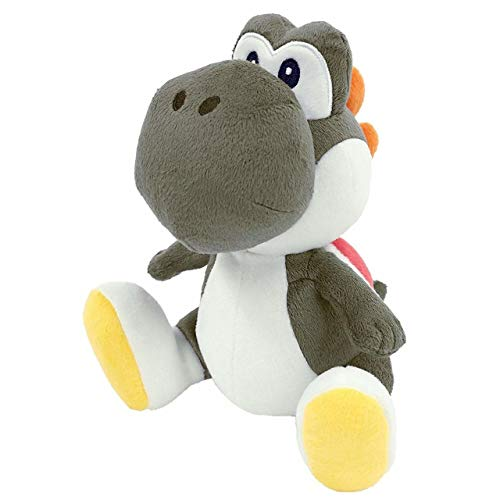 Mario's loyal leapin' lizard friend Yoshi is now a colorful new collection of Super Mario Bros. plush! Measuring 6-inches tall, the soft and cuddly Yoshi is available in a variety fo colors, including red, orange, purple and black (each sold separate...