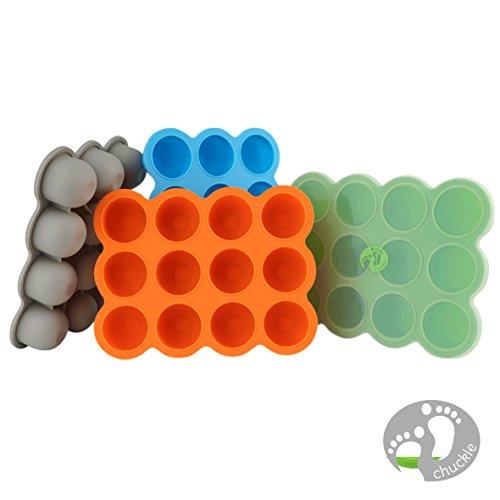 12-Set-Pots-de-Conservation-Moule-en-Silicone-Repas-pour-Bb-convient-pour-Conglation-Sans-BPA-Approuv-par-FDA–Disponible-sur-Amazon-couvercle-commun-inclus
