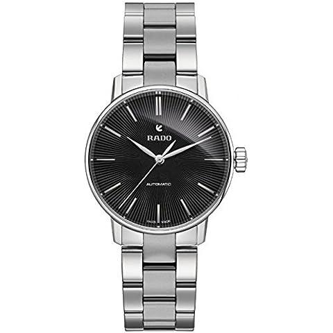 Rado 'Classic' Swiss reloj automático de acero inoxidable de la niña, color: silver-toned (modelo: r22862153) por