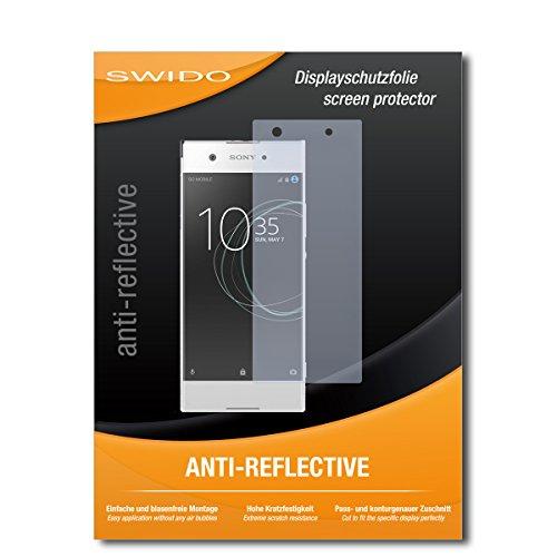 SWIDO Bildschirmschutzfolie für Sony Xperia XA1 [3 Stück] Anti-Reflex MATT Entspiegelnd, Extrem Kratzfest, Schutz vor Kratzer/Bildschirmschutz, Schutzfolie, Panzerfolie