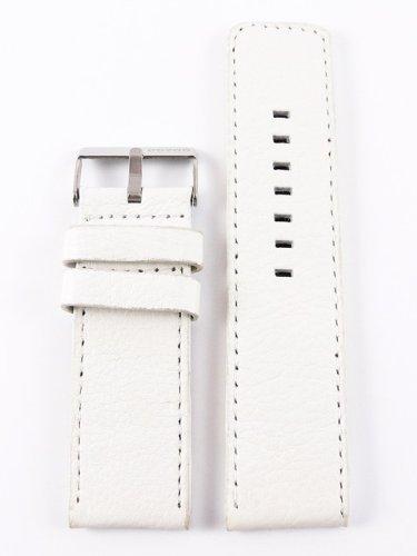 Oozoo Armband - Ersatzarmband für Oozoo Uhren etc. - 24 mm - Farbe : Weiss