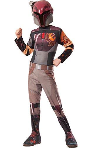 isney Star Wars Sabine Classic, Kinder Kostüm–Groß (Kanan Jarrus Kostüm)