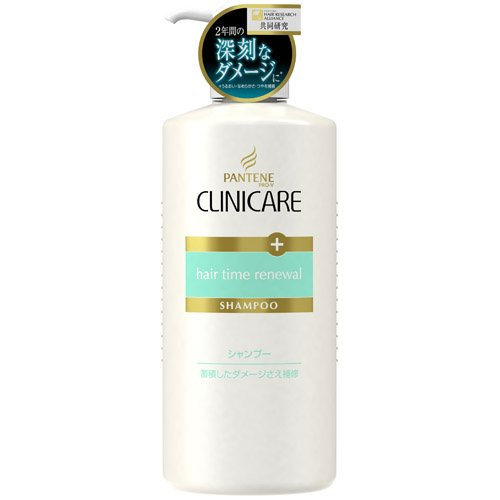 P&G PANTENE CLINICARE | Shampoo| hair time renewal 550ml (Japan Import)