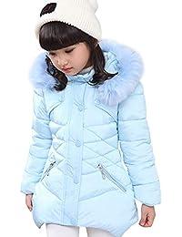 LSERVER-Kinder Jungen Mädchen Winter Warm Daunenjacke Baumwolljacke baby Jacke Kinder Mantel kinder bekleidung