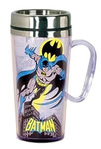 DC Comics Batman Tasse de voyage isotherme Noir