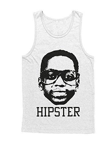 Hypeshirt Tank-Top Steve Urkel Hipster H989915 Weiß XL